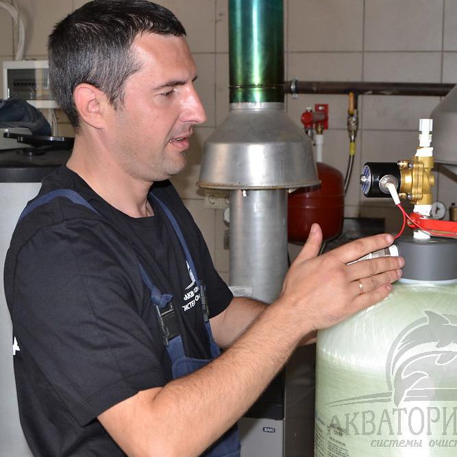 Сервисное обслуживание систем очистки воды
